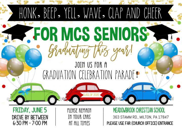 MCS 2020 Graduation Parade